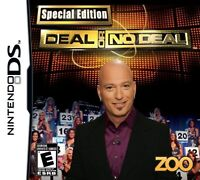 Deal Or No Deal: Special Edition For Nintendo DS DSi 3DS 2DS Game Only 3E