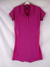 Adidas ClimaCool Formotion Womens Dress Sz 10 Pink Sheath Athletic Collar CB58D
