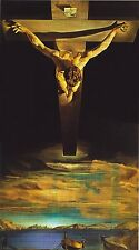 CHRIST OF St JOHN ON THE CROSS by Salvador Dali  Quality Photo print A4, or A5