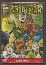 ORIGINAL SPIDER-MAN Season 2 Volume 3 UK DVD sealed/new