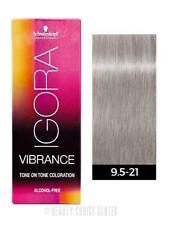 Schwarzkopf Igora Royal Vibrance Tone on Tone Hair Color 9,5-21 Ash Cendre Toner