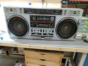 Technisonic Conion TC-555 Boombox Cassette Player **AS-IS**
