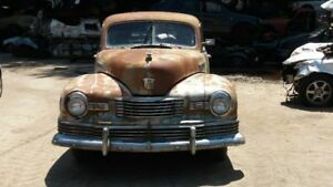 Drivers Tail Light Glass Lens for 1948 Nash