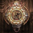 """Colonel J. Fizziwigs Steampunk Collection Wall Clock - 10"""" High"""