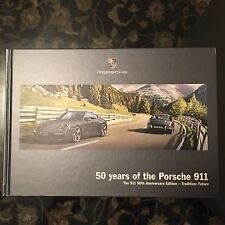 PORSCHE 991 911 50th ANNIVERSARY SALES BROCHURE 2013-2014.  ULTRA RARE!!!!!!!!!!