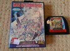 MAN OVERBOARD!  - Rare Boxed Sega Mega Drive Game