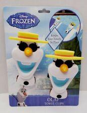 Disney Frozen Boca Clips by O2COOL Pool Beach Towel Holder Clips - OLAF