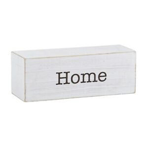 Farmhouse Message Decor Blocks Home