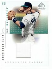 Alex Rodriguez 2001 SP Game Used Edition Authentic Fabric Jersey Card #ARM