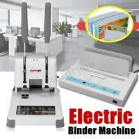 Hot Melt Book Paper Sheet Hole Electric Binding Machine Desktop Punching Binder