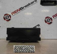 Renault Clio MK2 2001-2006 Temperture Radio Clocks Display 8200380298