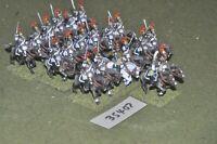 25mm napoleonic / french - heavy 20 figures - cav (35407)