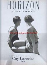 Guy Laroche Horizon 1993 Magazine Advert #1420