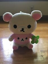 Cute Korilakkuma San-x Clover Plush