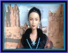 Princess of the Navajo Barbie Doll 2004 Dolls of the World DOTW B8956 Indian HTF