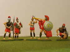 1/32 SCALE  TIMPO GREEK WARRIORS FACTORY PAINTED  SET
