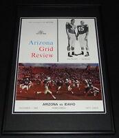 November 7 1964 Idaho vs Arizona Football Framed 10x14 Poster Official Repro