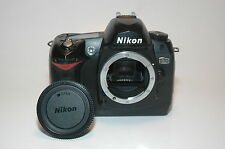 Nikon D70 6.1 MP Digital SLR Camera - Black (Body Only)
