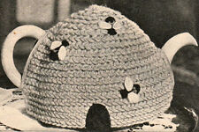 How to make a Vintage bee & beehive easy tea cosy,cozy,cosie-crochet pattern