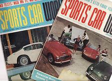 SPORTS CAR WORLD JAN 1960 AUG 1962 : MGA, MG Midget Lloyd Harnett TS