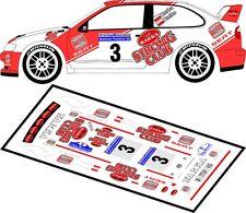 DECALS 1/43 SEAT CORDOBA WRC - #3 - HERBA - RALLYE KRAKOWSKI 2005 - D43018