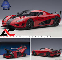 PREORDER AUTOART 79022 1:18 KOENIGSEGG AGERA RS (CHILLI RED/CARBON) SUPERCAR