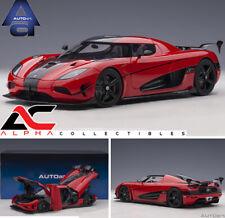 PREORDER AUTOART 79022 1:18 KOENIGSEGG AGERA RS (CHILLI RED/CARBON) SUPERCAR