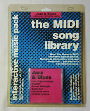 Jazz & Blues MIdi Song Library sheet music plus midi files