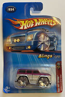 2005 Hotwheels Blings Mercedes-Benz G500 G Wagon AMG Very Rare! Asia Release!