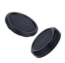 Tapa del cuerpo Fuji G-FX & Juego De Tapa trasera de objetivo. se adapta a todas las lentes y cámaras de montaje Fuji G