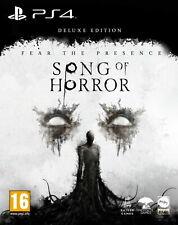 Canción de horror Deluxe Edition (PS4) ** ** versión previa
