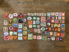 Mixed Lot Of Vintage Emboidered Patches