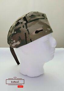 Mens surgical caps, scrub cap, scrub hat, surgical cap camouflage