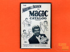 "Tv Magic Catalog cover art 2x3"" fridge/locker magnet vintage Marshall Brodien"