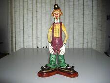 "Antique Lucavalli Figurine-Clown 10 1/2"""
