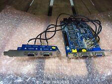 GeoVision GV-1480 Combo DVR Capture Card 480 FPS 16 CH PCI-E + 2-PORT MODULE