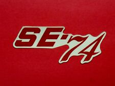 NOS Indian SE-74 Side Cover Decal dirt bike motorcycle