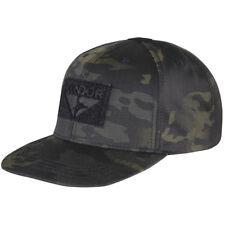 Condor Flat Bill Snapback Cap Baseball Mens Tactical Hat MultiCam Black Camo ed9449982db