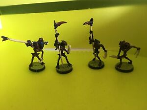 4x Palansi Aliens Cobalt Sci-Fi RPG Painted Wargames Miniatures
