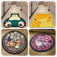 Pokemon GO Anime Manga Cute Velboa Floor Rug Carpet Room Doormat Non-slip Mat