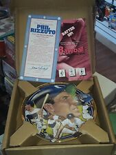 """Phil Rizzuto 23K Gold Plate """"The Best Of Baseball"""" Hamilton Collection"""