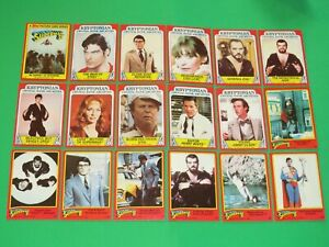 1980 SUPERMAN 2 MOVIE TOPPS COMPLETE BASE 88 CARD SET! NO STICKERS DC UNIVERSE!