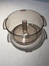 Sunbeam Big Oskar 14121 Food Processor Work Bowl 6 7/8 Inside Diameter Part Only