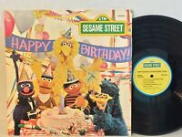 Sesame Street Happy Birthday EX ORIG