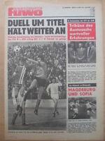FUWO 16 - 18.4. 1978 ** Croy Gera-Jena 1:6 1.FCM-BFC 2:1 Lok-HFC 2:0 Aue-FCK 1:0