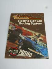 """AIRFIX """"MOTOR ACE"""" MRRC Slot Car Racing System Catalogue 1977"""