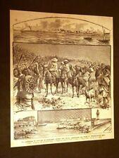 Guerra Africa 1896 Soccorso prigionieri d'Italia Scioa Padre C.Wersowitz Rey