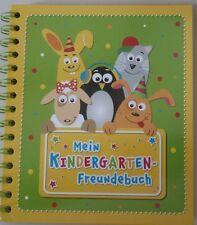 Freundebuch GRÜN * Mein Kindergarten - Freundebuch * Buch zum Einschreiben * NEU