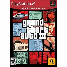 Grand Theft Auto III For PlayStation 2 PS2 4E