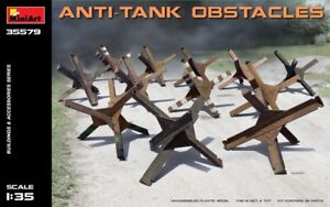 Miniart 35579 Accessories Anti-Tank Obstacles 1/35 scale model kit